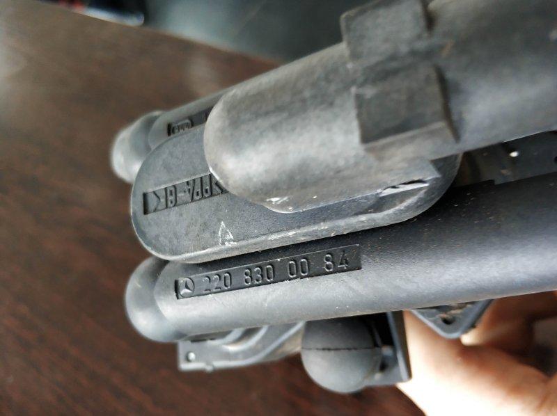 Клапана печки Mercedes S55 W220 113986 2000