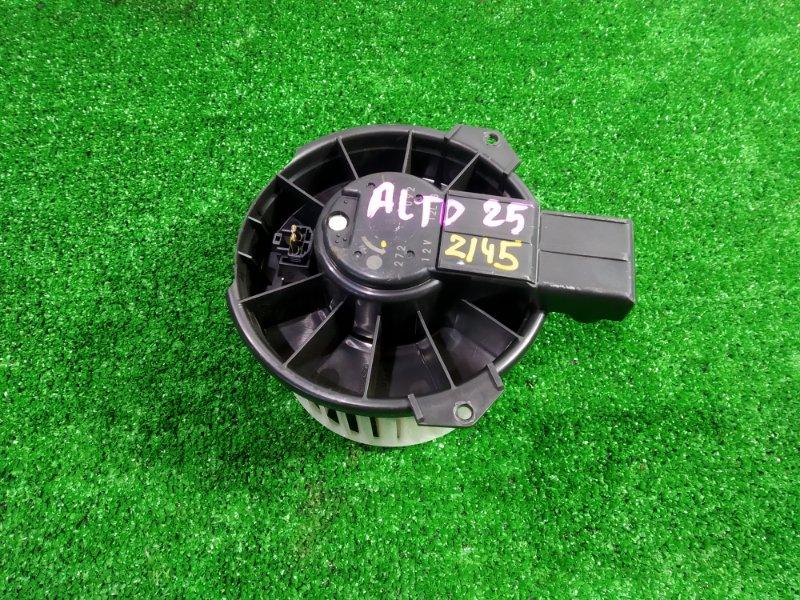 Мотор печки Suzuki Alto HA25S K6A 2009