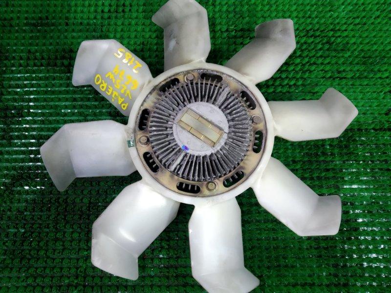 Вентилятор с вязкостной муфтой Mitsubishi Pajero V25W 6G74 1997