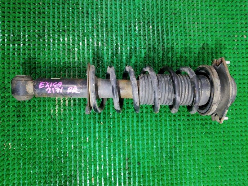 Стойка подвески Subaru Exiga YA5 EJ204 2008 задняя правая