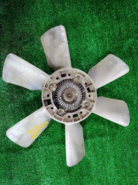 Вентилятор с вязкостной муфтой Isuzu Forward FRR12JA-3608730 6BG1-60441 1989