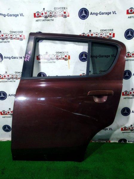 Дверь Suzuki Alto HA25S K6A 2009 задняя левая