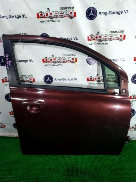 Дверь Suzuki Alto HA25S K6A 2009 передняя правая