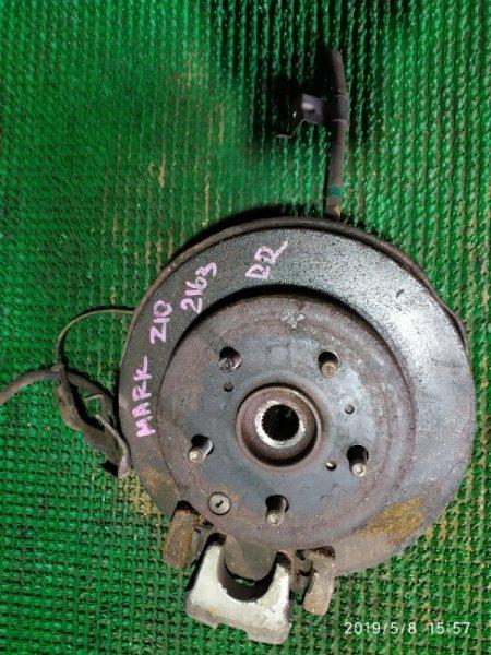 Ступица Toyota Mark X Zio ANA15 2AZ-FE 2007 задняя правая