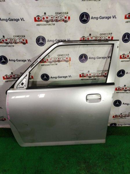 Дверь Mazda Carol HB24S K6A 2009 передняя левая