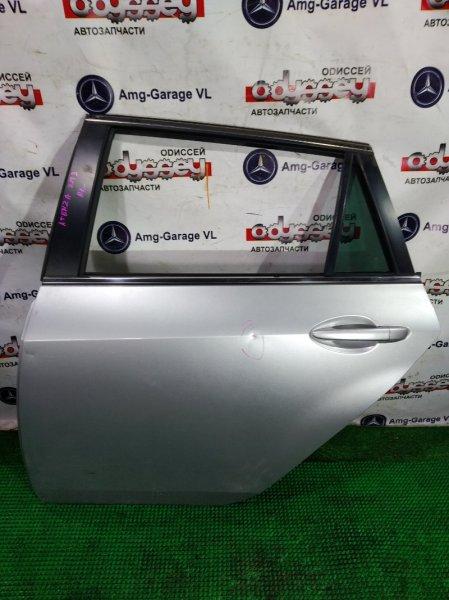 Дверь Mazda Atenza GH5AW L5 2010 задняя левая