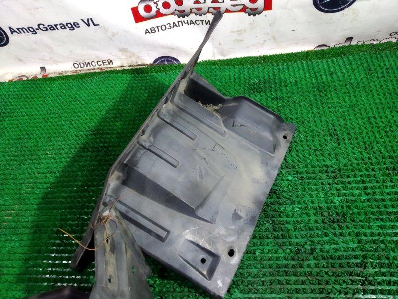 Защита двигателя Mitsubishi Galant Fortis CY4A 4B11 2008 правая