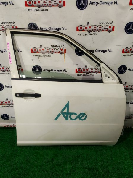 Дверь Toyota Probox NLP51V 1ND-TV 2006 передняя правая