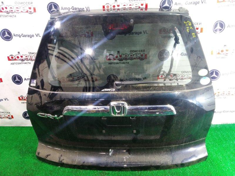Дверь 5-я Honda Crv RE4 K24A 2011