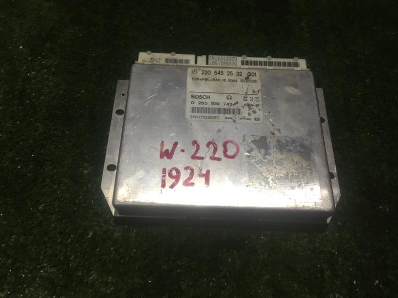Блок управления esp Mercedes S-Class WDB220