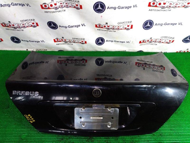 Крышка багажника Mercedes S500 W220 113960 2004