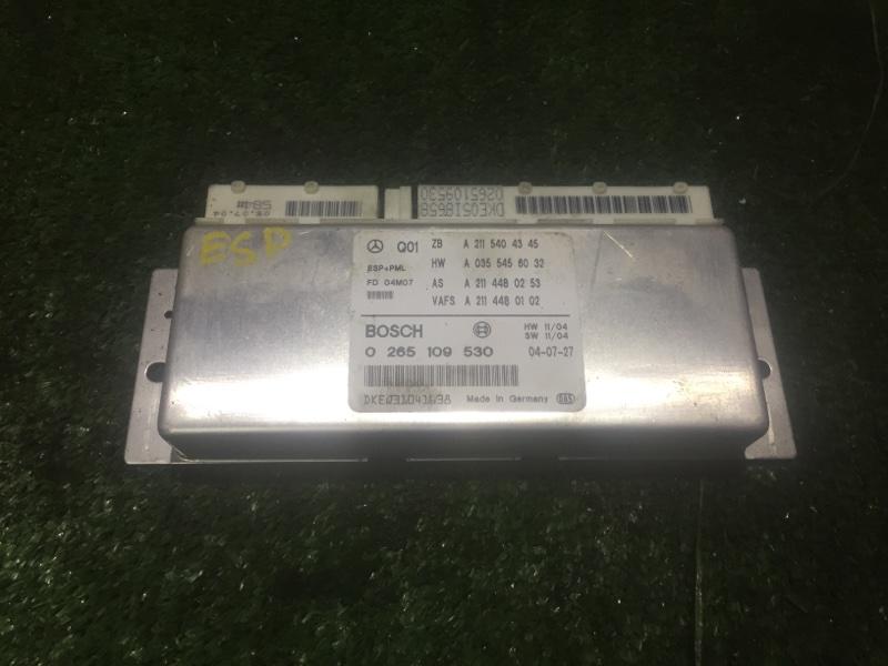 Блок управления esp Mercedes E320 W211 112949 2005