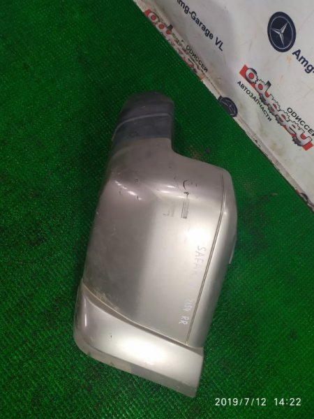 Клык бампера Nissan Safari VRGY61 TD42-T 1997 задний правый