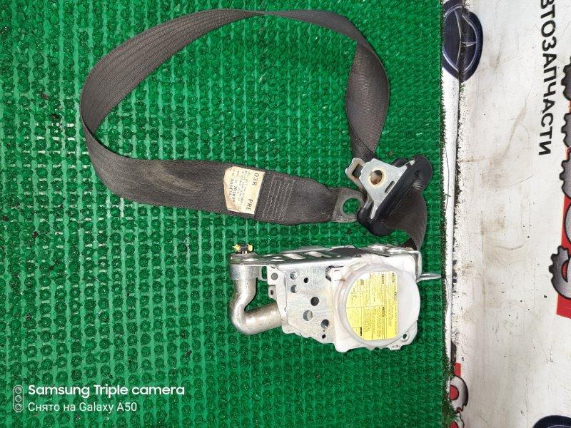Ремень безопасности Toyota Iq NGJ10 1NRFE 2010 передний правый