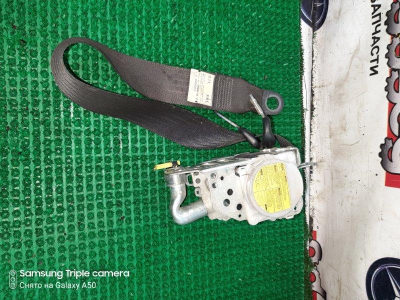 Ремень безопасности Toyota Iq NGJ10 1NRFE 2010 передний левый
