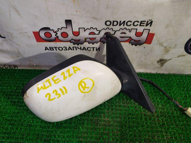 Зеркало Toyota Altezza SXE10 3SGE-9427177 2000 переднее правое