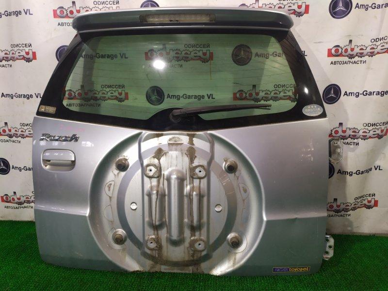 Дверь 5-я Toyota Rush J210E 3SZ-FE 2006