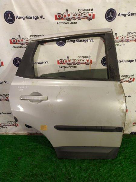 Дверь Nissan Dualis NJ10 MR20-331246A 2008 задняя правая