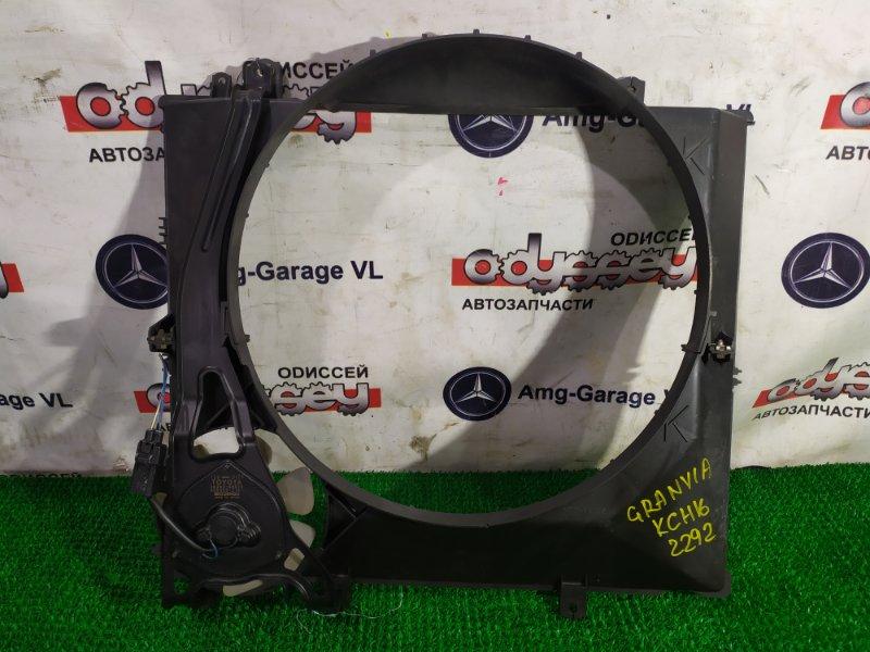 Диффузор радиатора Toyota Granvia KCH16 1KZ-TE 1996