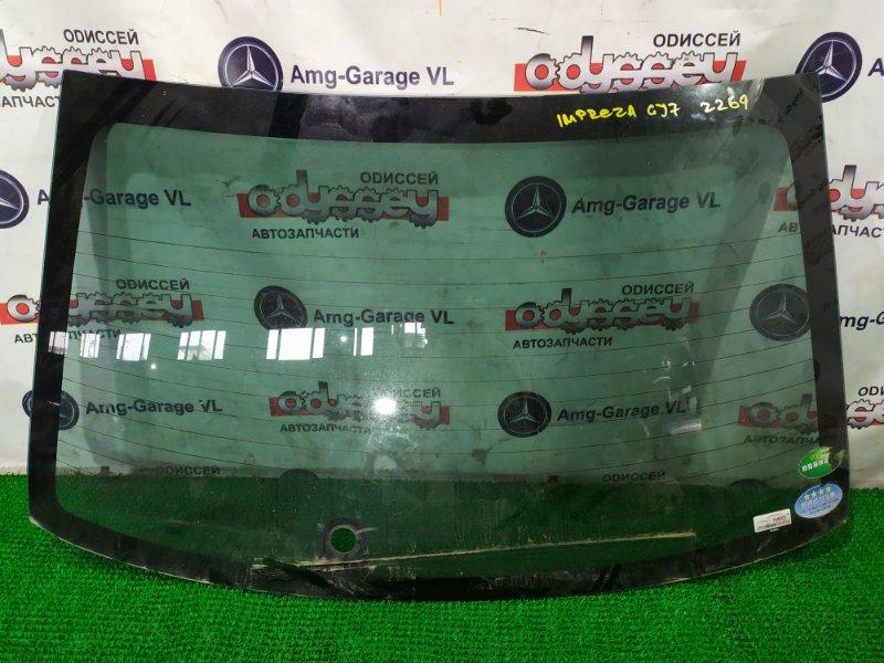Стекло заднее Subaru Impreza GJ7-005157 FB20ASZH1A-R428148 2012