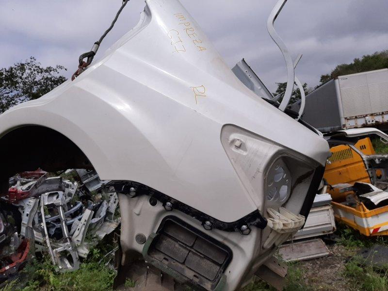 Rear cut Subaru Impreza GJ7-005157 FB20ASZH1A-R428148 2012 задний