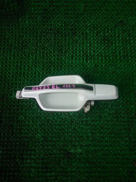 Ручка двери Mitsubishi Pajero V75W 6G74 2001 задняя левая