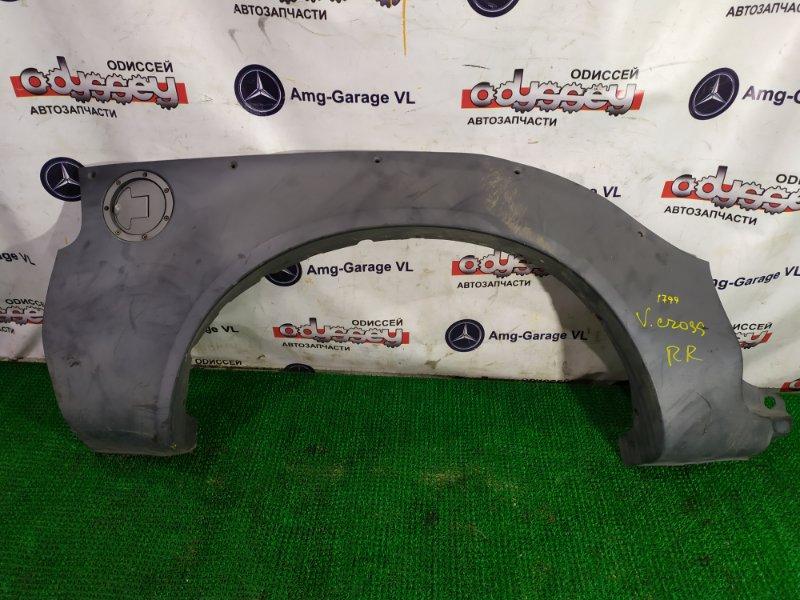 Накладка на крыло Isuzu Vehicross UGS25DW 6VD1-527909 1997 правая