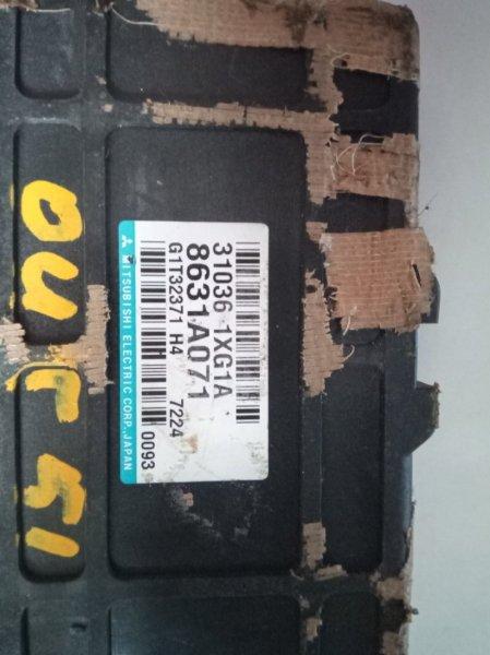 Блок управления автоматом Mitsubishi Outlander CW5W 4B12