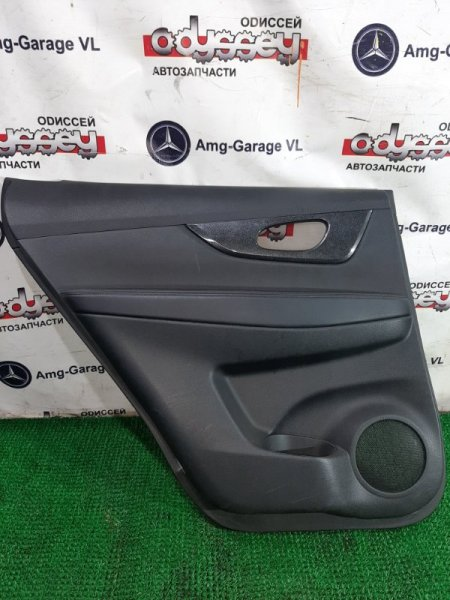 Обшивка дверей Nissan Xtrail NT32-004829 MR20-524997B 2013 задняя левая