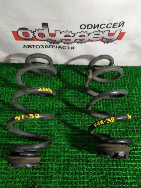 Пружина Nissan Xtrail NT32-004829 MR20-524997B 2013 задняя