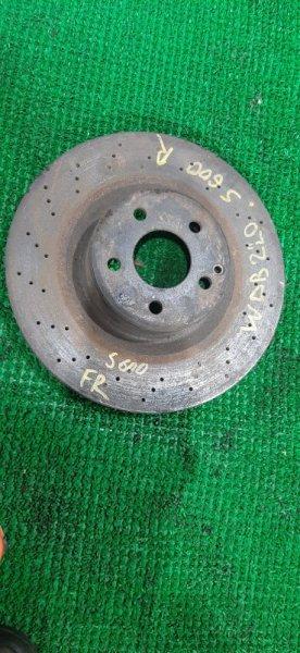 Тормозной диск Mercedes S600 W220 137970 передний
