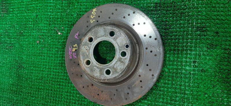 Тормозной диск Mercedes S500 W220 113960 2004 передний