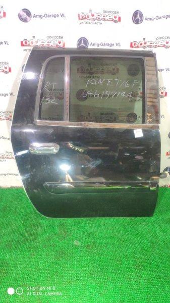 Дверь Chevrolet Trailblazer T370V LM4 2004 задняя правая