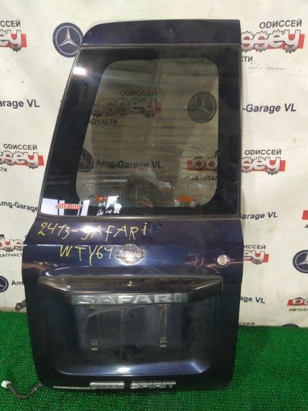 Дверь 5-я Nissan Safari WTY61-000176 ZD30DDTI-019955 2000 левая