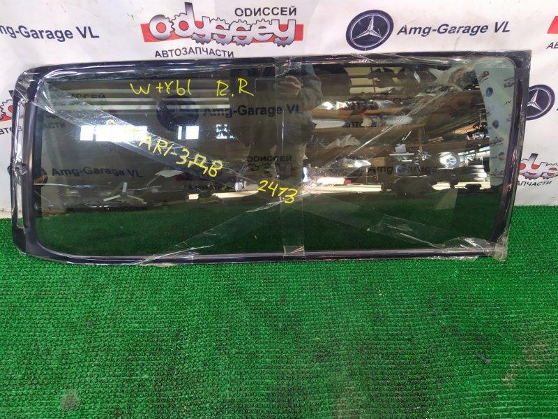 Стекло собачника Nissan Safari WTY61-000176 ZD30DDTI-019955 2000 заднее правое