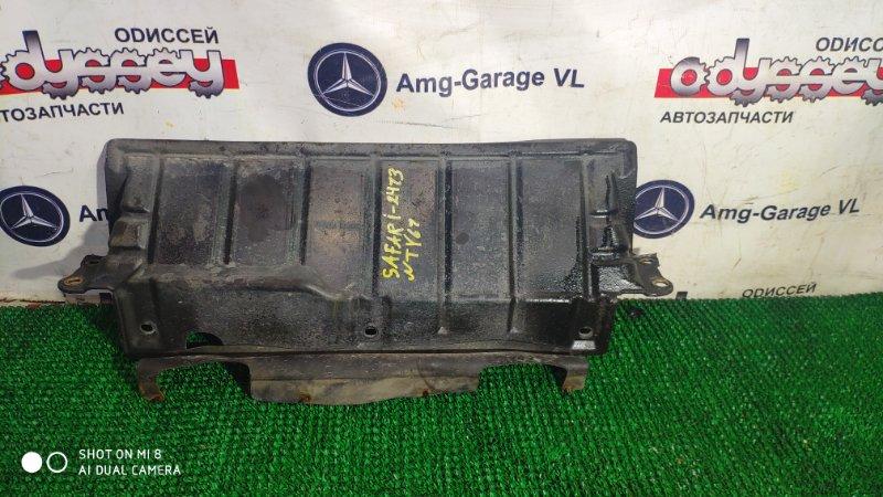 Защита двигателя Nissan Safari WTY61-000176 ZD30DDTI-019955 2000