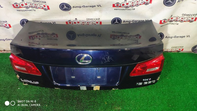 Крышка багажника Lexus Is350 GSE21 2GR-FSE 2006
