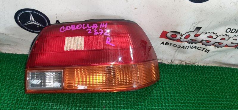 Стоп Toyota Corolla EE111 4E-FE 1995 задний правый