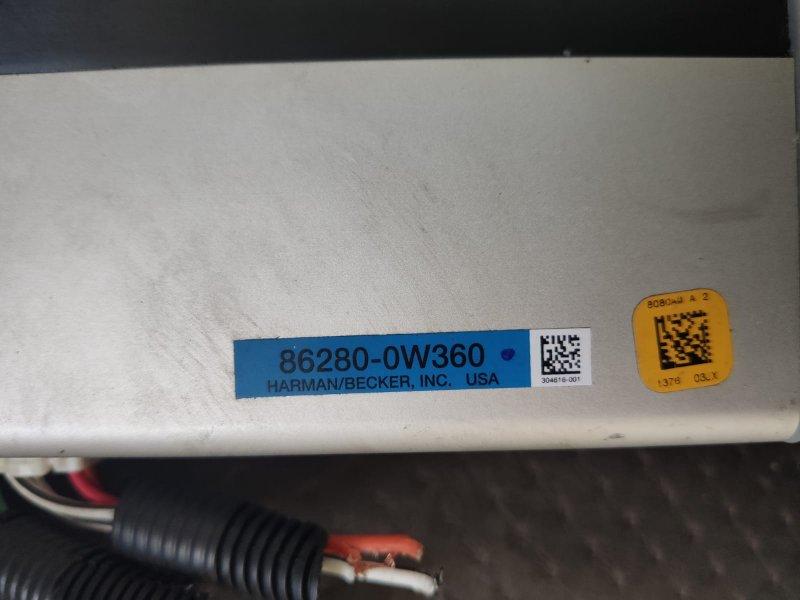 Усилитель магнитофона Lexus Is350 GSE21 2GR-FSE 2006