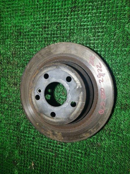 Тормозной диск Mercedes Cls350 W219 272964 2006 задний правый