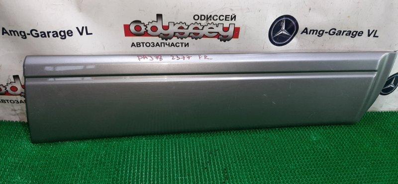 Накладка на дверь Mitsubishi Pajero V78W 4M41 2004 передняя правая