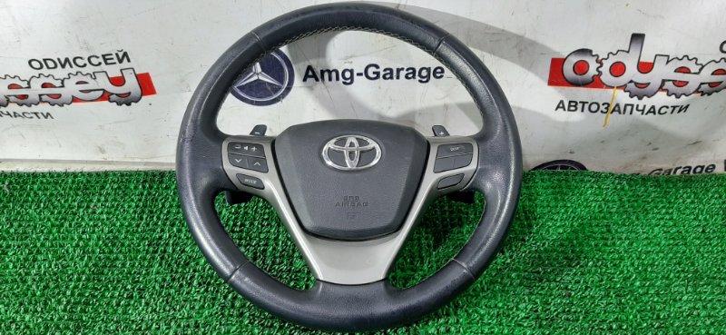 Airbag на руль Toyota Avensis ZRT272 3ZR-FAE 2011
