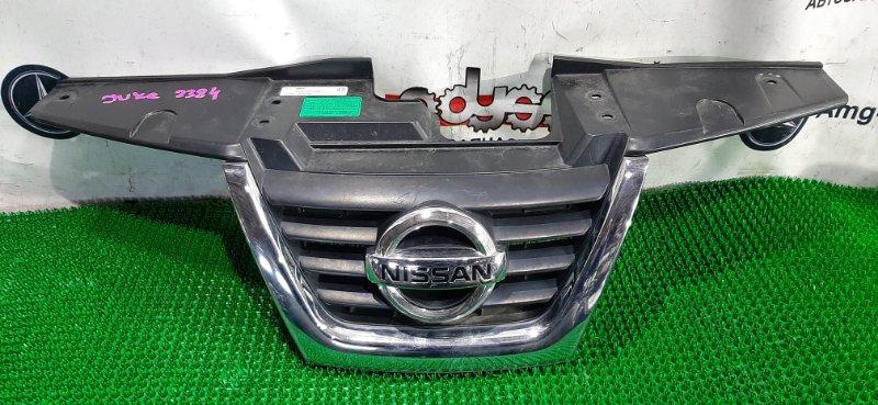 Решетка радиатора Nissan Juke YF15 HR15 2010