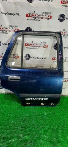 Дверь Toyota Surf KZN130 1KZ-TE 1995 задняя правая