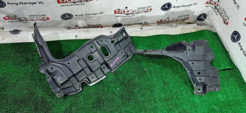 Защита двигателя Toyota Ractis NCP125 1NZ-FE 2012 передняя