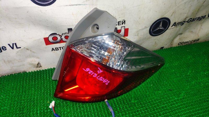 Стоп Toyota Ractis NCP125 1NZ-FE 2012 задний правый
