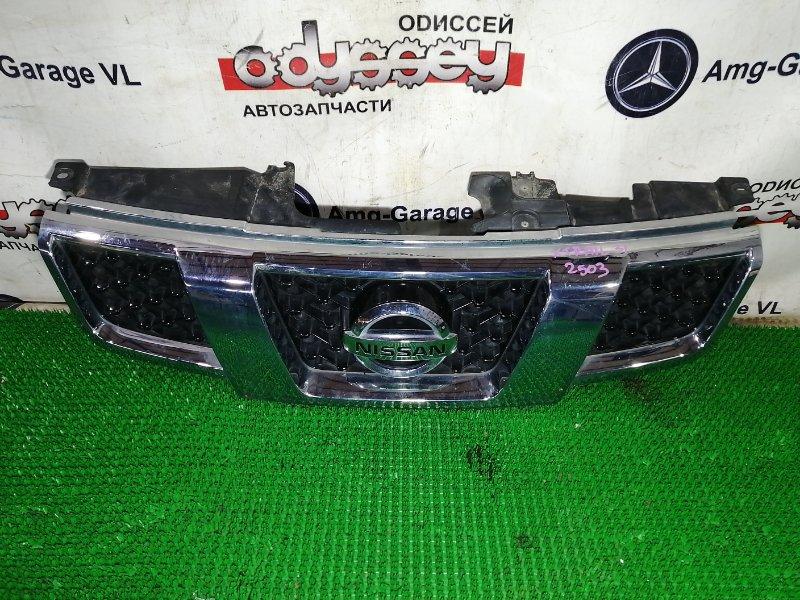 Решетка радиатора Nissan Xtrail TNT31 QR25DE 2010