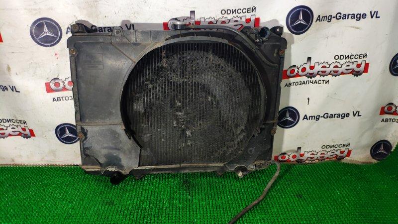 Радиатор Nissan Datsun BMD21 TD27 1989