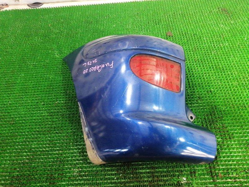 Клык бампера Toyota Funcargo NCP20 2NZ-FE 2002 задний левый