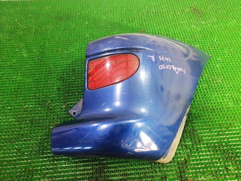 Клык бампера Toyota Funcargo NCP20 2NZ-FE 2002 задний правый
